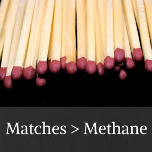 Matches - Methane